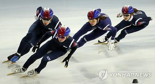 질주하는 한국 쇼트트랙
