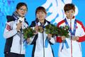 <올림픽> 밝게 웃는 박승희와 심석희