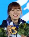 <올림픽> 박승희 '금메달 미소'