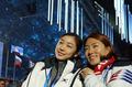 Kim Yu-na and Lee Sang-hwa