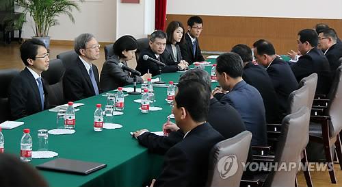 북일, 1년4개월만에 정부간 공식 협상