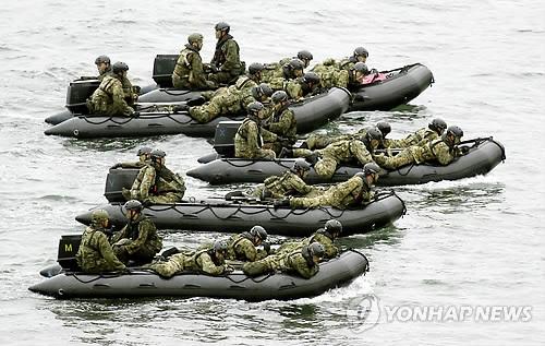 일본 자위대 낙도 탈환 훈련