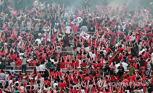 <월드컵2014>열광하는 붉은악마