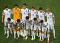 韩国队拍摄纪念照