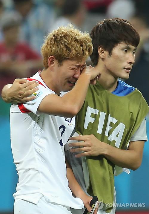 <월드컵2014> '막내의 눈물'