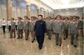 Kim Jong-un tour's grandpa's mausoleum