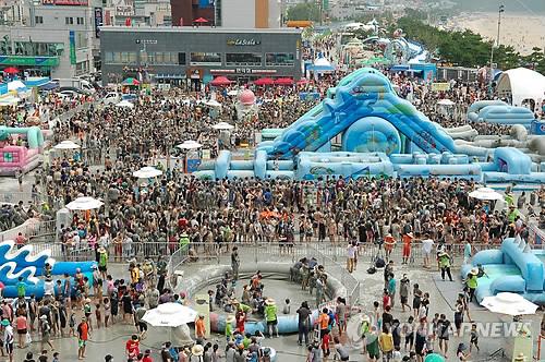 보령머드축제(연합뉴스 자료사진)