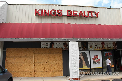 米暴動 韓国系商店も略奪被害