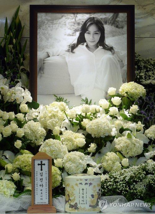 Late Actress Kim Jin Ah
