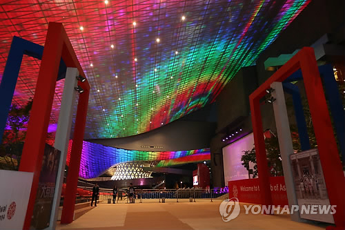 부산영화제 개막 앞둔 영화의 전당