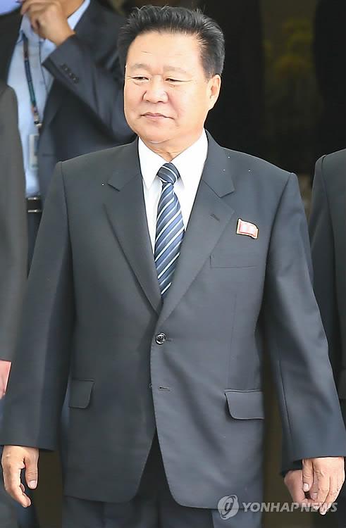 인천공항 도착한 北 최룡해 노동당 비서