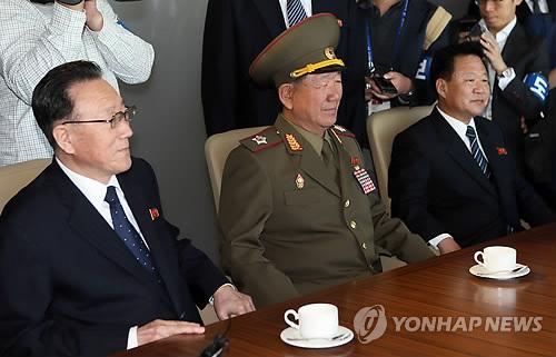 인천 방문한 북 고위대표단