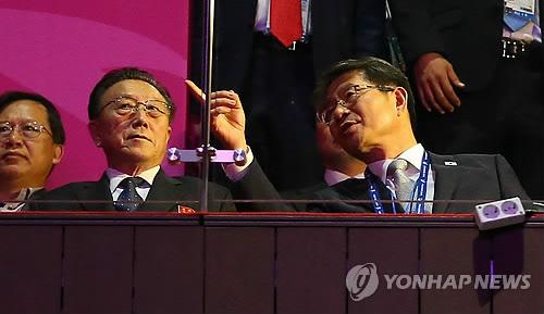 Kim Yang-gon et Ryoo Kihl-jae