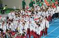 仁川亚运闭幕式 韩国代表团入场