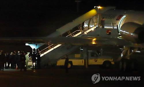 북한으로 돌아가는 고위급 인사들