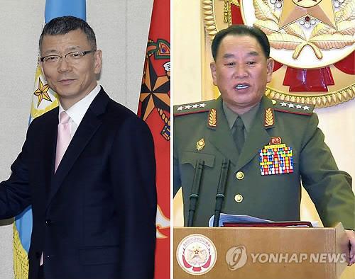 군사당국자 접촉 수석대표 南 류제승-北 김영철