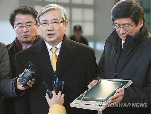 북한 김정은 제1위원장의 친서