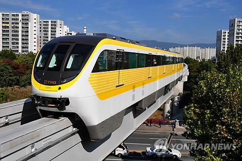大邱都市鉄道3号線 来年開通