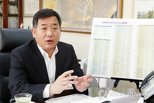 전국시장군수구청장협의회장으로 선출된 박성민 울산 중구청장