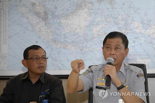 실종 여객기, 자바해 벨리퉁섬 인근 추락한 듯