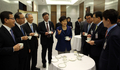 朴槿惠与新任特别助理和首席秘书交谈