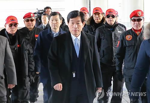 원세훈 전 국정원장 법정구속
