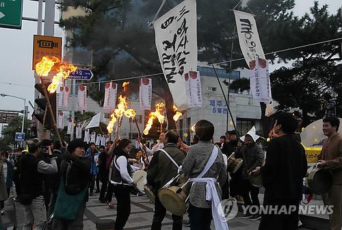 제주4·3 '역사맞이 거리굿'