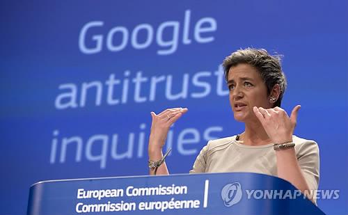 EU, 구글 반독점 위반 혐의 공식 제소
