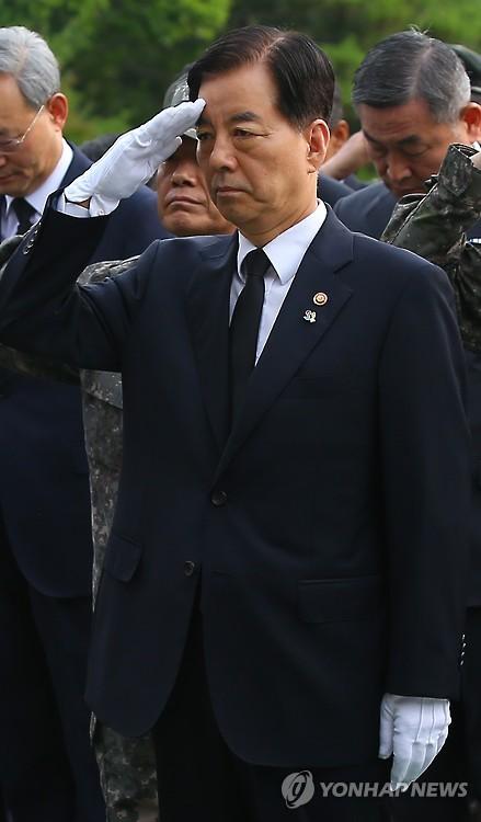 한민구 국방장관(연합DB)