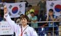 韩柔道运动员金圣妍夺女子70公斤级金牌