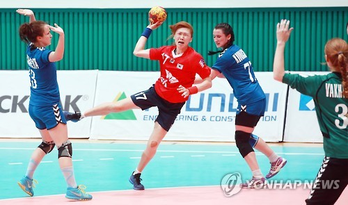 S. Korea faces Russia at Universiade handball