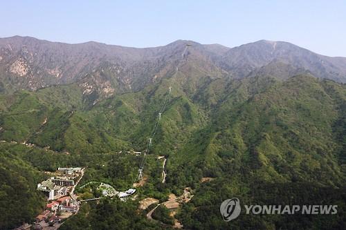 설악산 오색 케이블카 조감도(연합뉴스 자료사진)