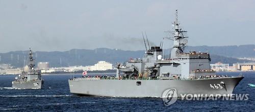 韓과 '레이더 갈등' 키운 日, 中전투기 자위대함 표적훈련 침묵