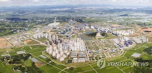 광주전남혁신도시 전경
