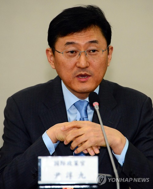 윤순구 외교부 차관보  [연합뉴스 자료사진]