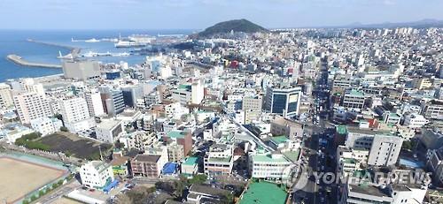 제주시 원도심[연합뉴스 자료사진]