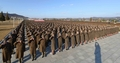 朝鲜军人宣誓效忠金正恩