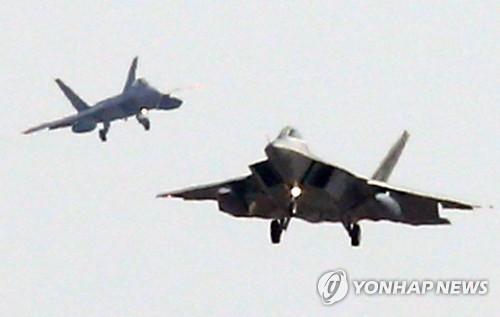 미국 F-22 전투기[연합뉴스 자료사진]
