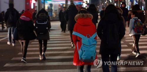 학원가 모습[연합뉴스 자료사진]