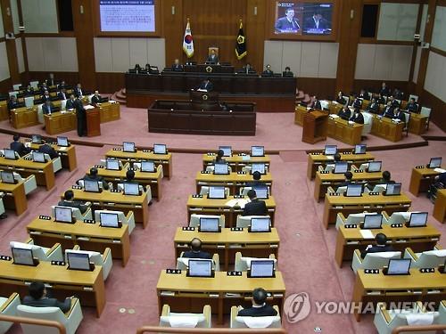 부산시의회 본회의장