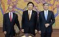 韩外长会见韩美对朝制裁高官会议美方代表