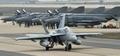 韩美空军进行联合作战演习