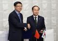 韩中环境部长会晤