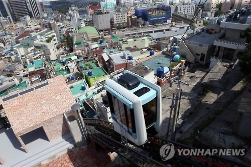 부산 원도심에 모노레일 [연합뉴스 자료사진]