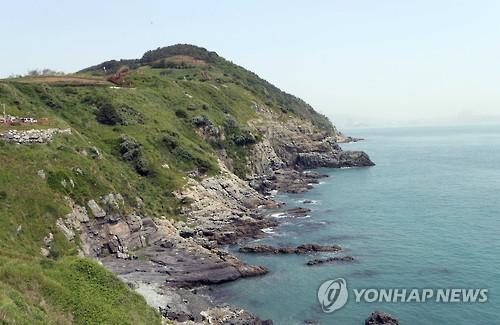 부산 이기대 해안 절경 [연합뉴스 자료사진]