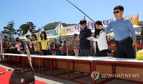 황태 축제 [연합뉴스 자료 사진]