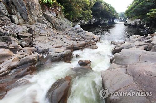 유네스코 생물권보전지역 효돈천