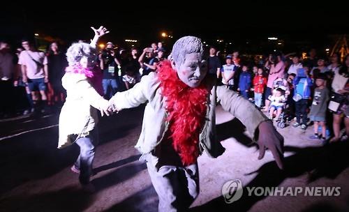 2016 춘천마임축제 '도깨비난장' 밤샘공연
