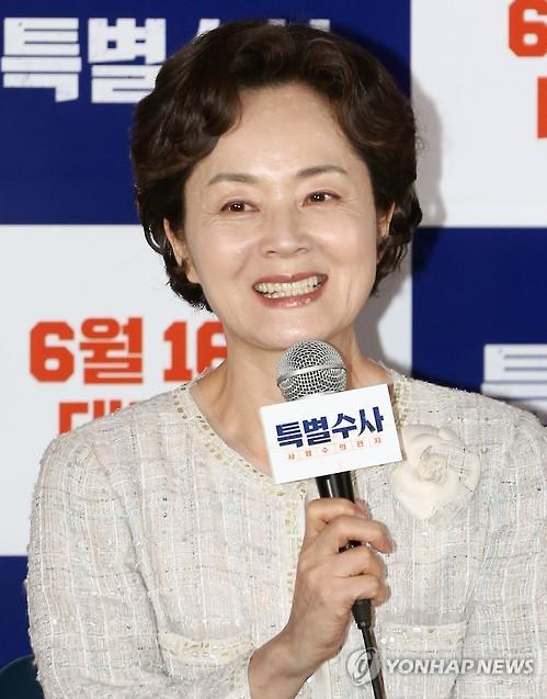 """배우 김영애 측 """"현재 병원서 안정과 휴식 취하고 있다"""""""