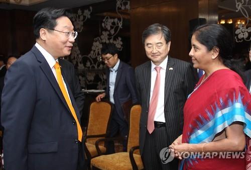 한-인도 경제혁력 방안 논의[연합뉴스 자료사진]